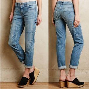 Pilcro Hyphen Boyfriend Carpenter Jeans sz 25